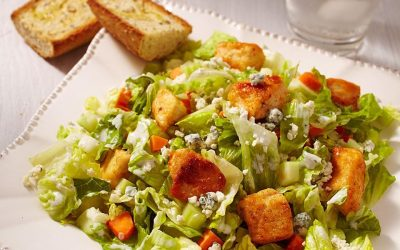 Buffalo Chicken Salad Dish: Healthy Meal and Food