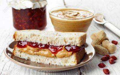 Strawberry Jam & Peanut Butter | Grilled Sandwich Recipe