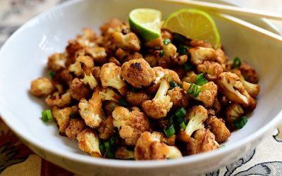 Spicy Cauliflower Stir-Fry Dish: Healthy Meal